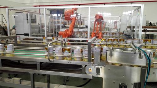 铁听自动包装生产线
