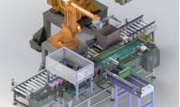 太仓ZS-06A机器人自动装箱机