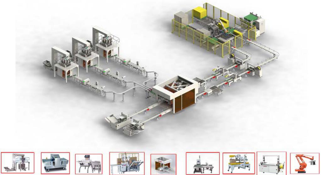 自动化包装生产线